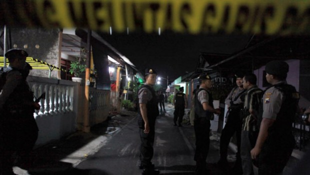 Dua Pelaku Teror Ditangkap di Bima (foto: Antara)