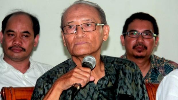 Prof Dr Ahmad Syafii Ma'arif (foto: Suara Pembaruan)