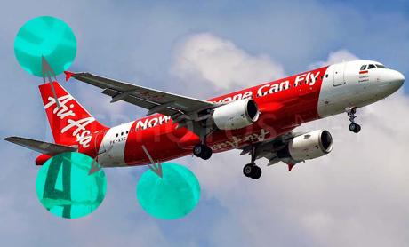 Ekor AirAsia Ditemukan (foto: detiknews)