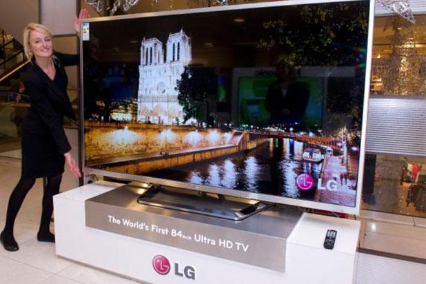 Ultra HD TV di Ajang CES 2015 (foto: thewrap.com)