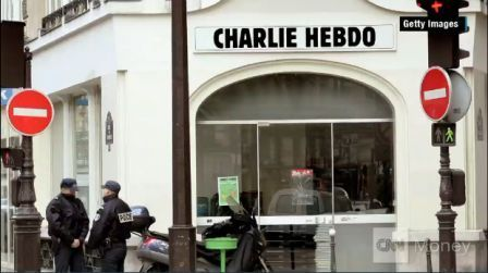 Kantor Majalah Charlie Hebdo (foto: CNN)