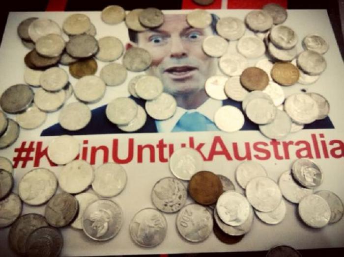 #KoinUntukAustralia (foto: acehkita.com)