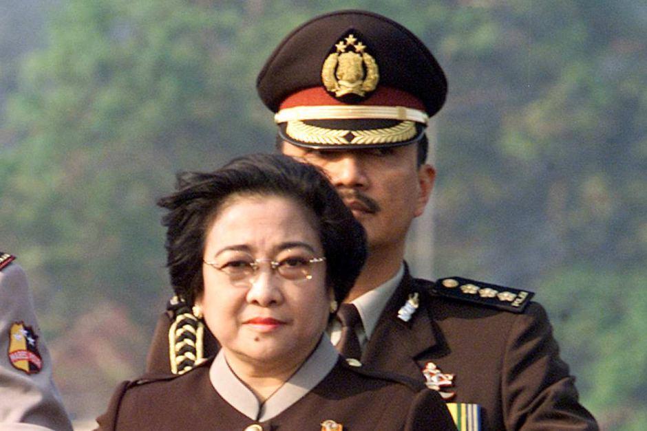 Budi Gunawan dan Megawati Soekarnoputri (foto: Reuter)