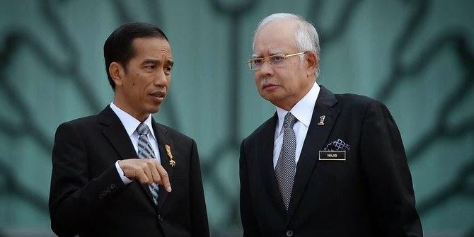 Najib Razak - Jokowi
