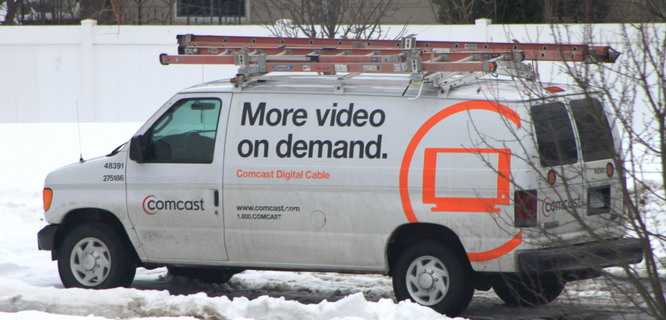 Mobil van Comcast (foto: Wikipedia)