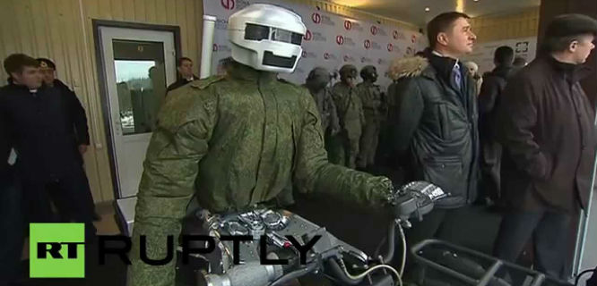 "Robot ""Terminator"" Avatar (foto: RT)"