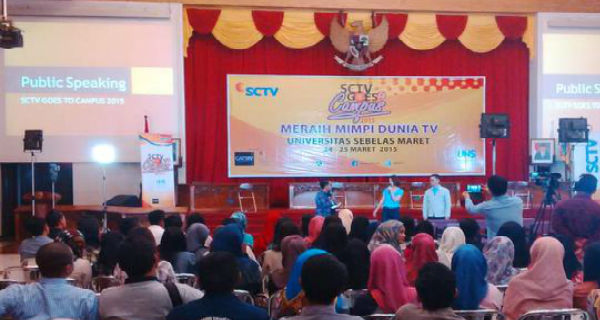 SCTV Goes to Campus (foto: @SCTV_)