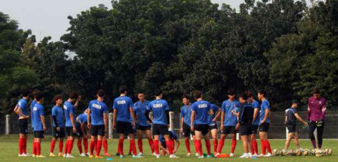 Timnas U-23 Korea Selatan (foto: Tempo)