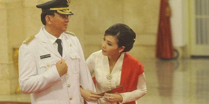 Basuki Tjahaja Purnama dan Istrinya Veronica Tan (foto: merdeka)