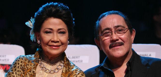 Rima Melati dan Frans Tumbuan (foto: kabarmaya.com)