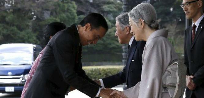 Joko Widodo saat melawat ke Jepang (foto: viva.co.id)