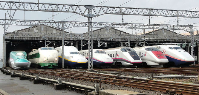 Stasiun kereta cepat di Jepang (foto: wikipedia)
