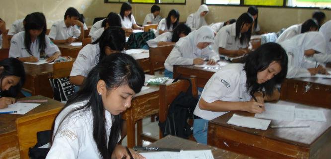Ilustrasi Ujian Nasional (foto: blogdetik)