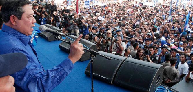Susilo Bambang Yudhoyono (foto: lintaspos)