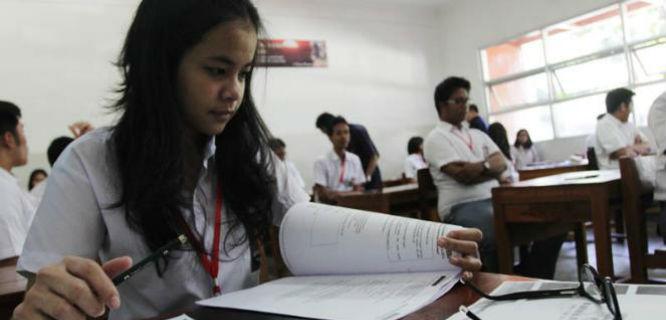 Ilustrasi Ujian Nasional (foto: vivanews)
