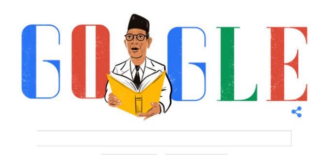 Google Doodle Ki Hajar Dewantara