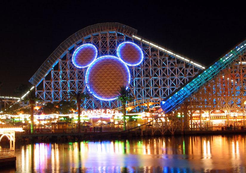 roller coaster California Screamin (foto: coasterbuzz.com)