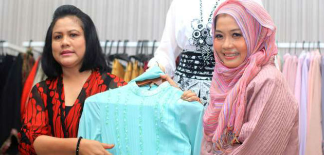 Iriana dan Tuty Adib (foto: CNN Indonesia)