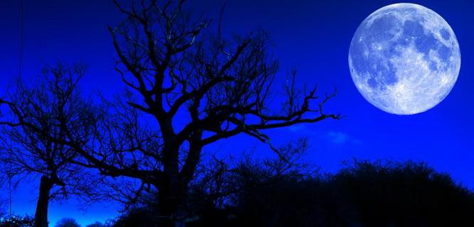 Ilustrasi Blue Moon (foto: www.timeanddate.com)