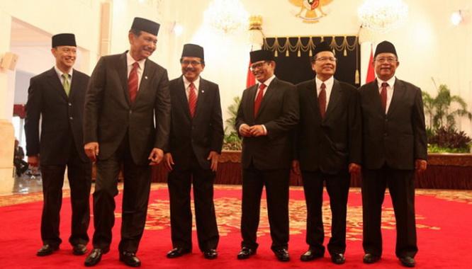 reshuffle kabi  berikut daftar lengkap nama menteri baru