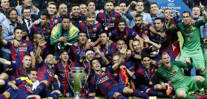 Juara Liga Champions 2015, Barcelona (foto: bbc.co.uk)