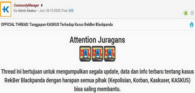 Official Thread Kaskus tentang kasus Blackpanda (kaskus.co.id)