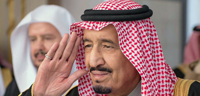 Prince Salman bin Abdulaziz Al Saud of Saudi Arabia (foto: The Guardian)