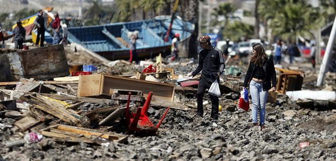 Gempa Chile (foto: AP)