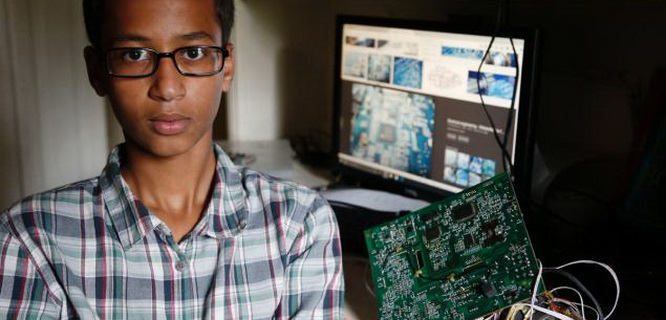 Ahmed Mohamed (foto: nydailynews)