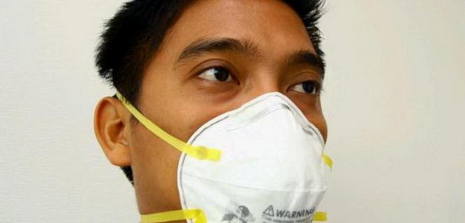 masker N95 (foto: Tribunnews)