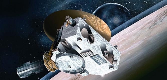 Pesawat luar angkasa New Horizon (Photograph: Johns Hopkins University Applied/PA)