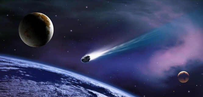 Ilustrasi meteor (foto: softpedia)