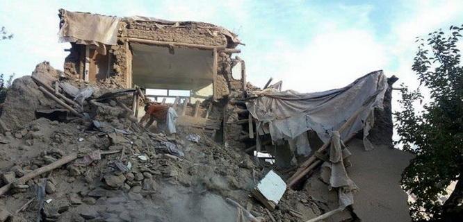 Gempa Afghanistan (foto: AFP)