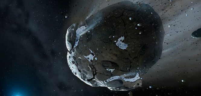 Ilustrasi asteroid (foto: ibtimes.co.uk)