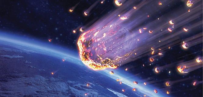 Ilustrasi meteor (foto: Popsci)