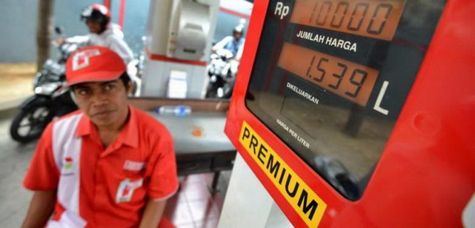 ilustrasi harga BBM (foto: Kompas)