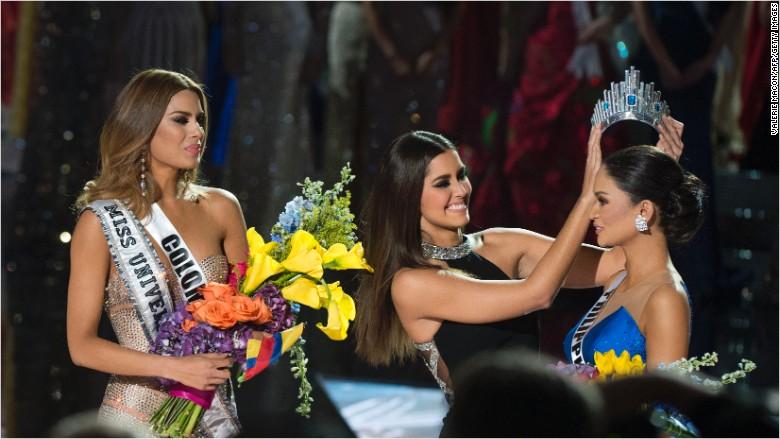 Miss Universe 2015 (foto: CNN)