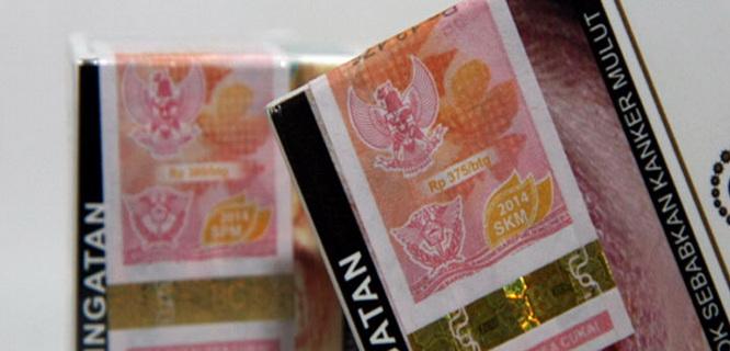 Ilustrasi cukai rokok (foto: kabarkudus.com)