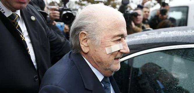Sepp Blatter (foto: Reuters)