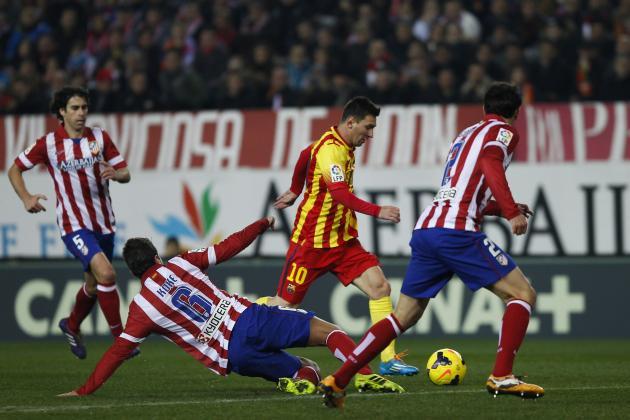RCTI, TV Online & Live Streaming Barcelona vs Atletico ...