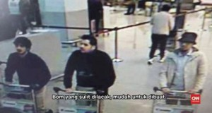 Terduga Pelaku Bom Brussels (foto: CNN Indonesia)