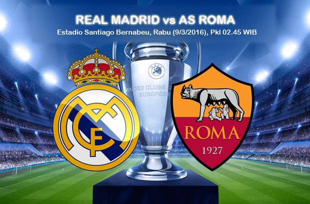 Image Result For Real Madrid Vs As Roma Jadwal