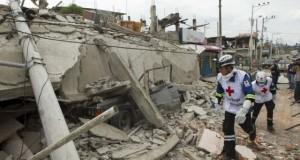 Gempa Ekuador (foto: Pool)