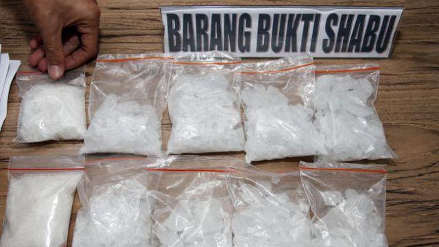 Ilustrasi Narkoba Sabu-sabu (foto: Antara)