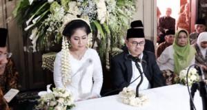 Sudirman Said – Astried Swastika Ayuningtyas Menikah (foto: beritasatu)