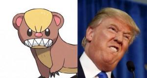 Yungoos dan Donald Trump (foto: @RoundOfToast)