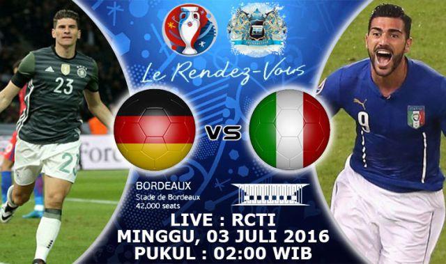 Nonton Live Streaming Rcti Euro Tv Online Rcti Jerman Vs Italia
