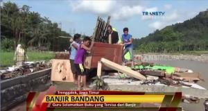 Banjir Trenggalek (foto: Transtv)
