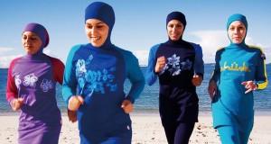 Wanita mengenakan burkini (foto: The Guardian)