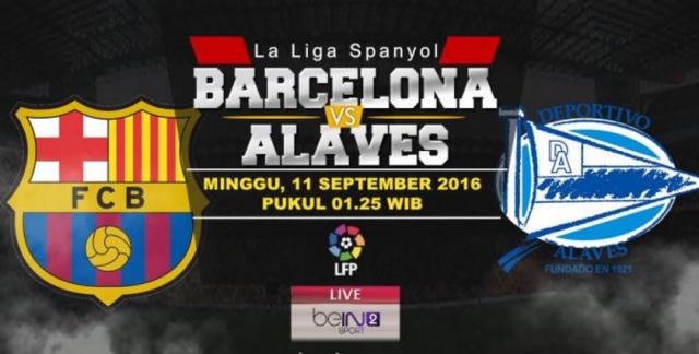 Barcelona Nonton Live Streaming Sctv Tv Online Vs Alaves Free Siaran Langsung Liga Spanyol Gratis Hd Malam